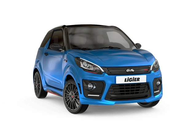 Ligier JS50 Sport Ultimate bleu - voiture sans permis