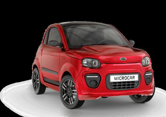 Microcar Dué Plus Pack Design - voiture sans permis