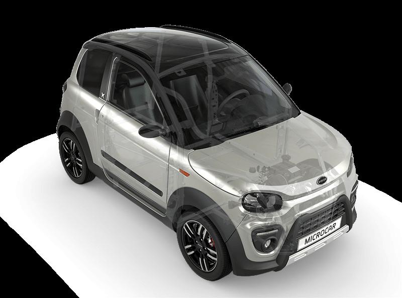 Sécurité voiture sans permis Microcar