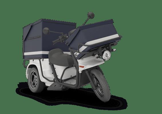 Scooter électrique La Poste - Ligier Professional