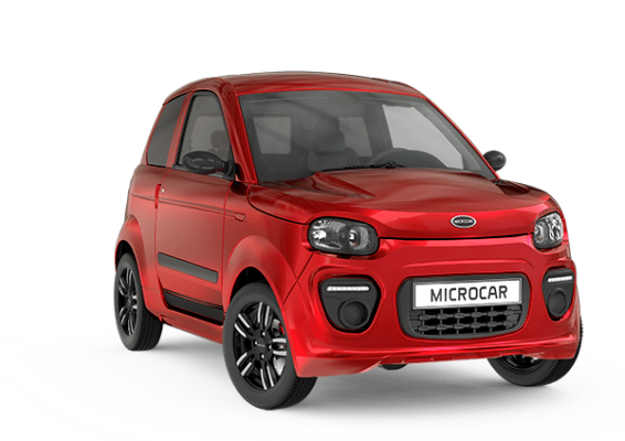 VSP Microcar M.GO Plus Pack Design