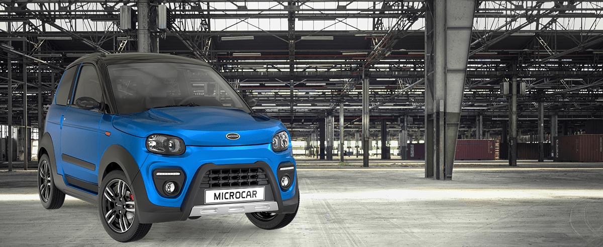 VSP bleue Microcar