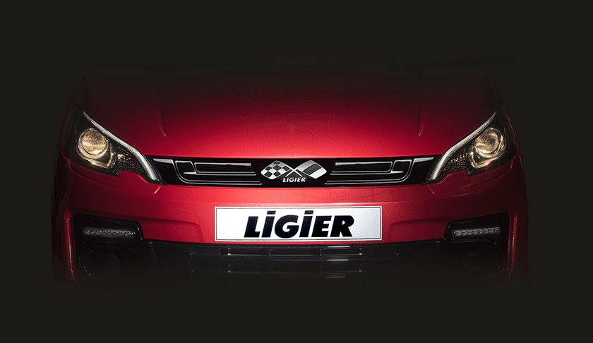 Feux LED voiture sans permis - Ligier