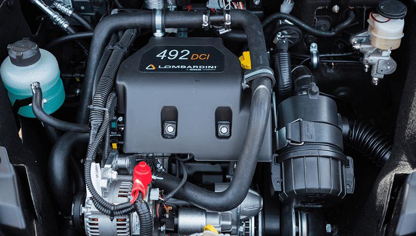 Moteur diesel voiture sans permis - Ligier