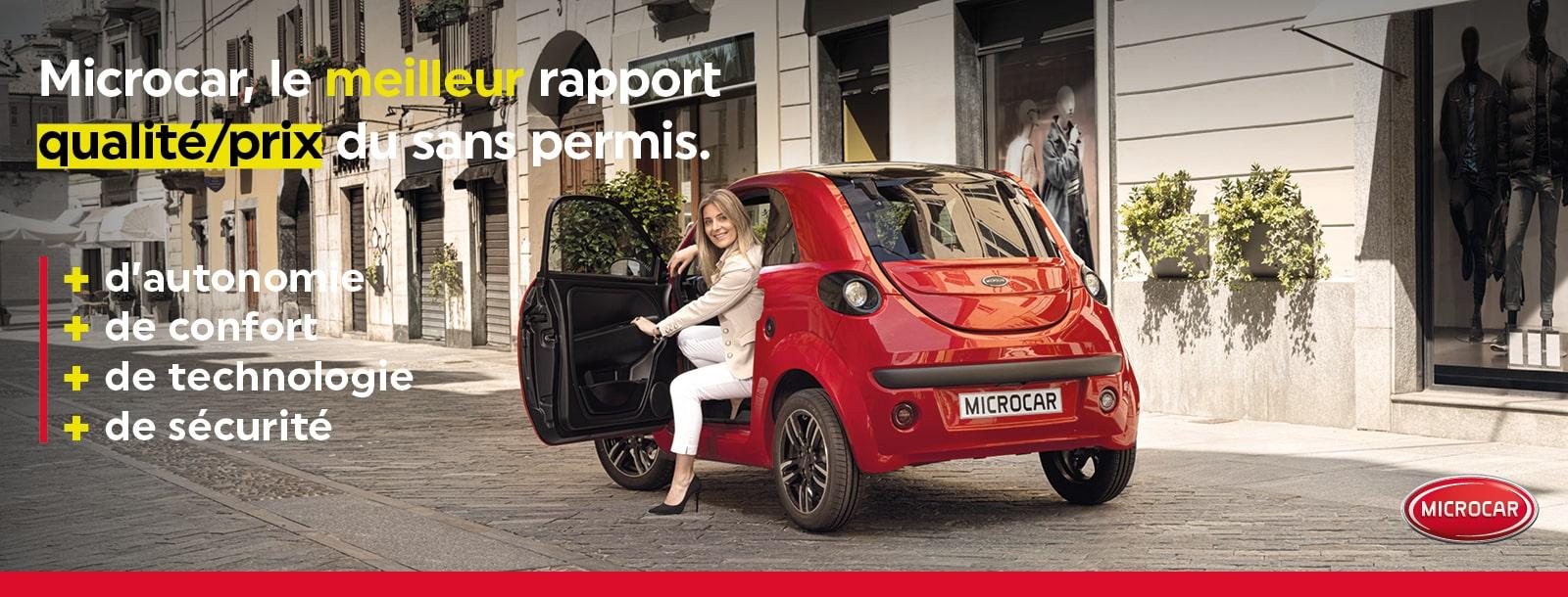 Microcar - Meilleur rapport qualité prix du sans permis