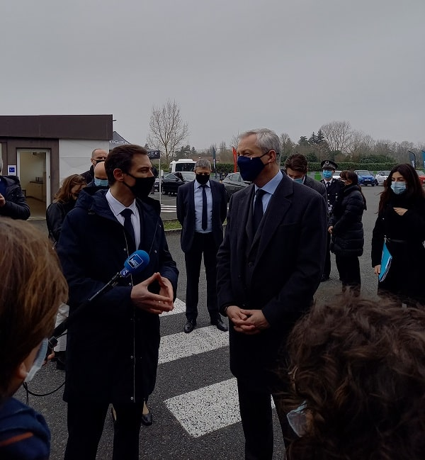 Bruno Le Maire - visite Ligier Group