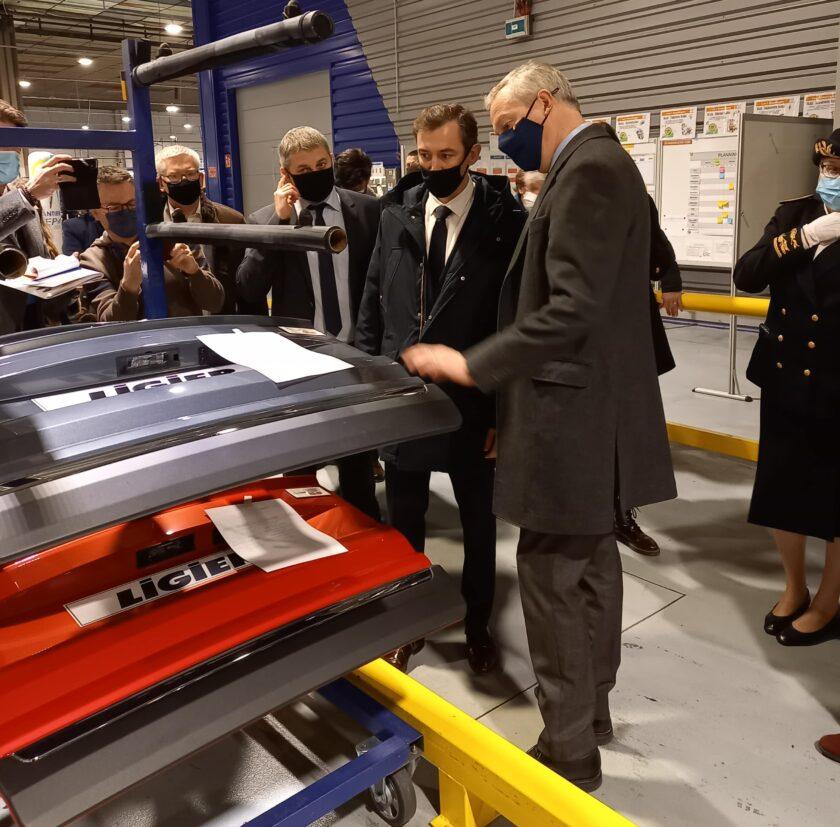 Visite usine Ligier